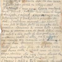 Esempio lettera contenuto nel fascicolo personale