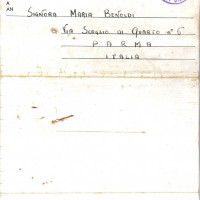 Retro lettera