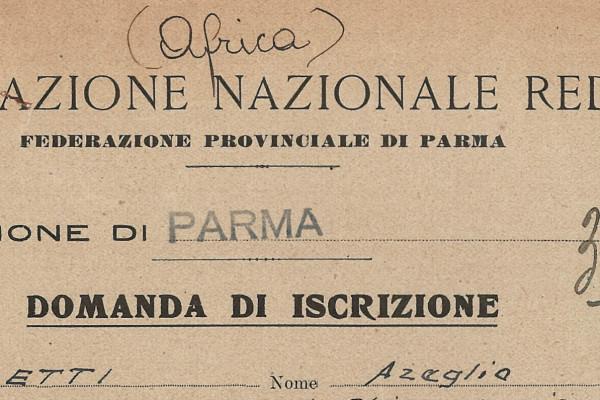 La federazione parmense dell'Associazione nazionale reduci della prigionia: storia e archivio