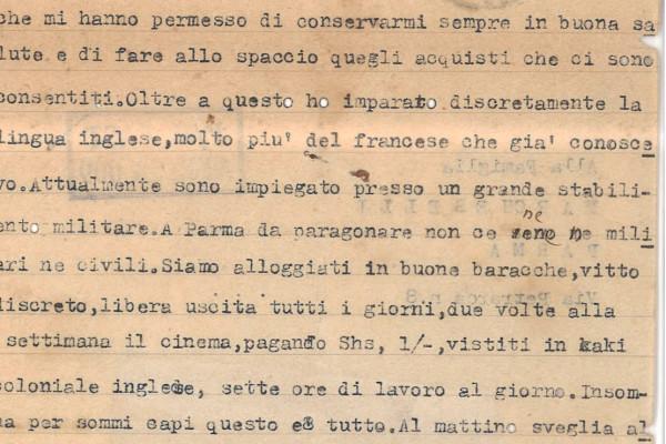 I benefici di cooperare con gli Alleati: il racconto di una giornata di prigionia.