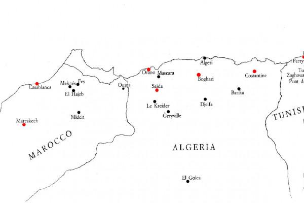 I campi di prigionia francese di Saida e Boghari in Algeria