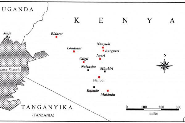 I campi di prigionia inglesi in Kenya e i dati del parmense